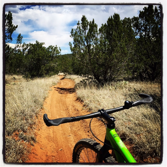 Another example of buff singletrack on Coyote.